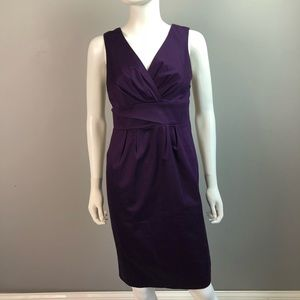 Boden purple sheath dress